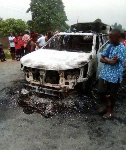 OHAFIA-TV News | Gunmen Kill Nigerian Soldiers, Policemen, Burn Operational Vehicles In Akwa Ibom