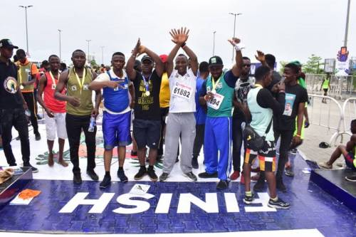 Vote Healthy Leaders, Sowore Says As He Completes Lagos City Marathon 1