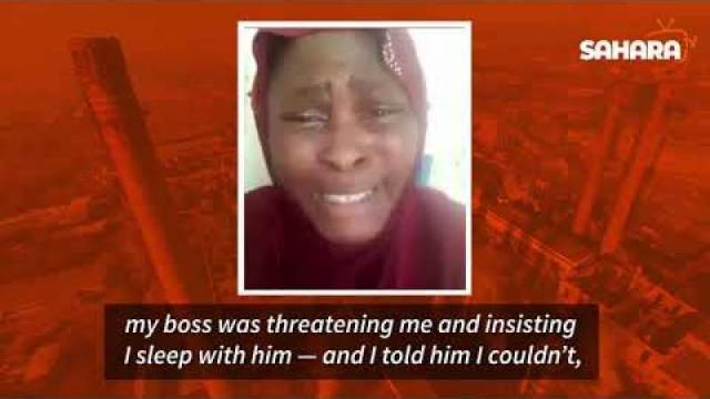 Nigerian Lady Trafficked To Oman Cries Out For Help After Being Enslaved, Sexually Harassed By Boss