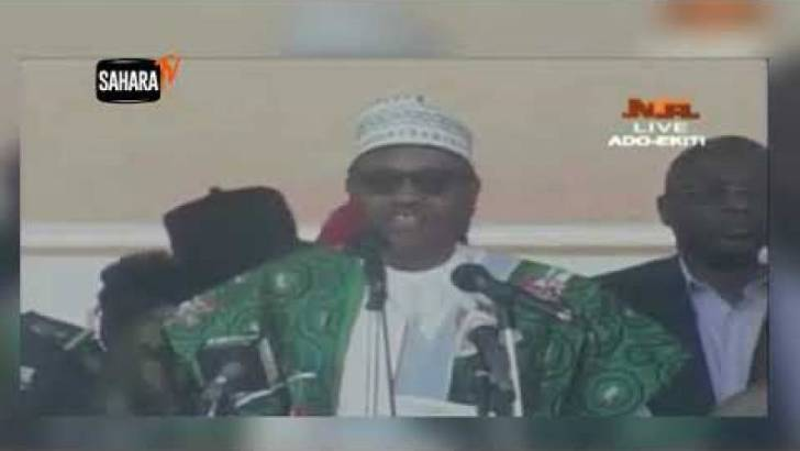 I Came Into Office In 2005, Says Buhari