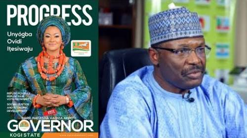 INEC Chairman Behind Natasha Akpoti's Disqualification From Kogi 2019 Guber Election - Official