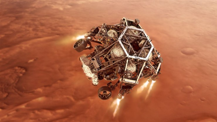 NASA set to land on Mars in a search for ancient life
