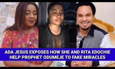 Prophet Odumeje, Rita Edochie Reject Ada Jesus Plea, Insisting She won't Get Well Unless...
