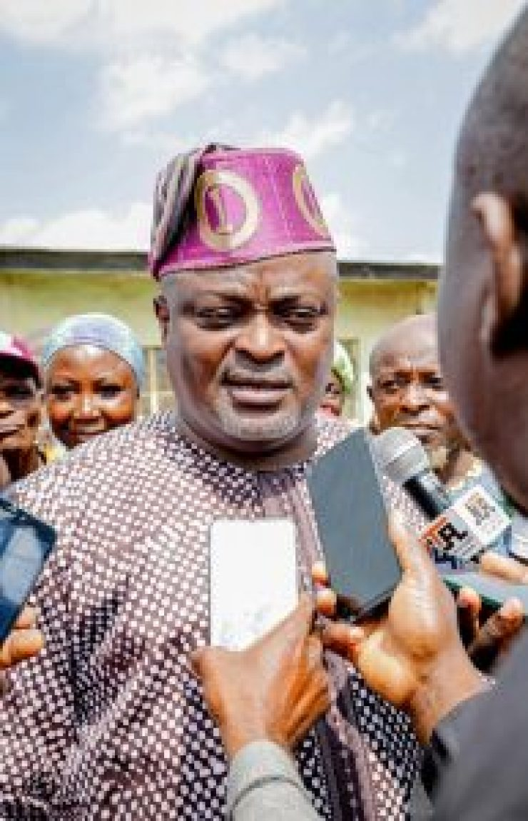LG Election: Speaker Obasa votes, says democracy has come to stay