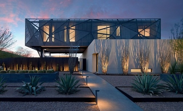 The Tresarca Residence in Las Vegas | Villa Design
