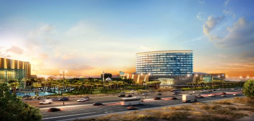 Grand Hyatt Kuwait Rendering (Credit to RTKL Architects)