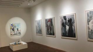 Galerie d'Art: éclairage sur rail
