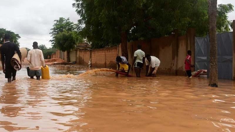 Pluies diluviennes au Niger : 40 morts, 30 blessés, 31 805 sinistrés, selon la DGPC