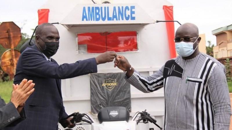 Au Burkina Faso, le grand geste du Japon et de l'Unicef pour renforcer le système sanitaire
