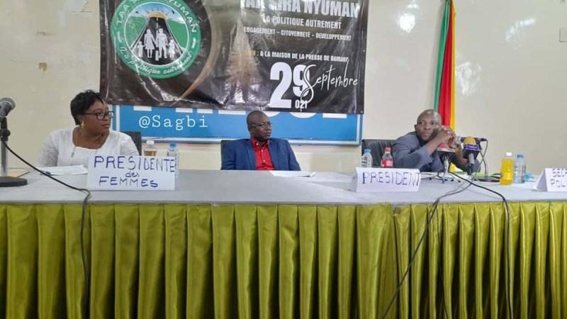 Mali: des jeunes intellectuels lancent un mouvement politique «Taa Sira Nyuman»