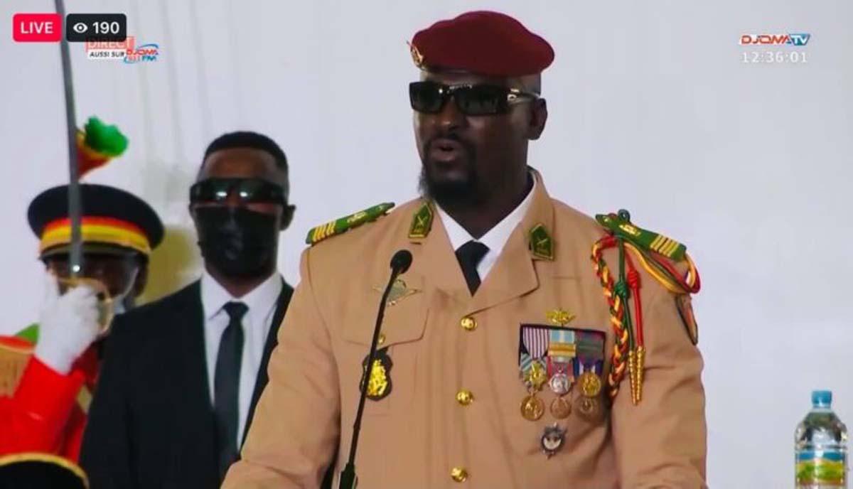 Guinée: Mamady Doumbouya à la présidence de la transition à durée ''indéterminée''