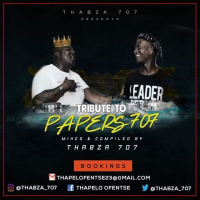 Thabza 707 - Tribute Mix To Papers 707