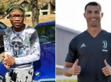 "Watch As Cristiano Ronaldo vibes to Master KG's ""Jerusalema"""