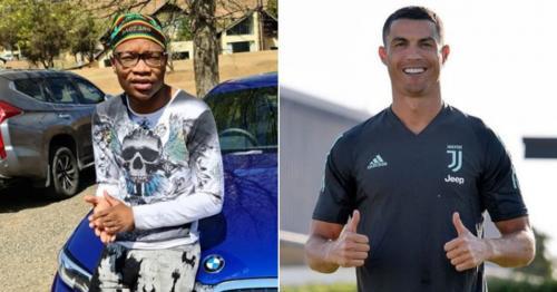"Watch As Cristiano Ronaldo vibes to Master KG's ""Jerusalema"""