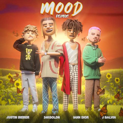 24kGoldn ft Justin Bieber, J Balvin & iann dior - Mood (Remix)