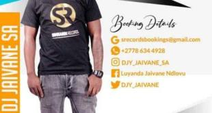 Dj Jaivane - 30 Mins With Simnandi Records 2 (Live Recorded Mix)