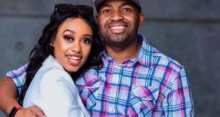 Khune and wife celebrate three years wedding anniversary