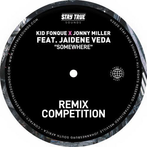 Kid Fonque & Jonny Miller ft Jaidene Veda - Somewhere (Tebza De SouL Remix)