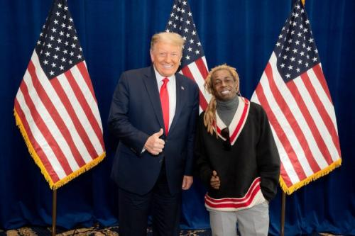 Donald Trump Officially Acquits Lil Wayne and Kodak Black