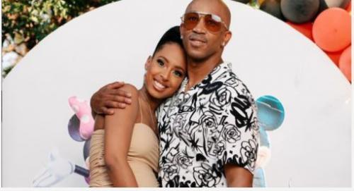 Theo Kgosinkwe and wife welcome baby girl