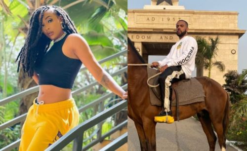 VIDEO: Nadia Nakai meets American rapper, Vic Mensa in Ghana
