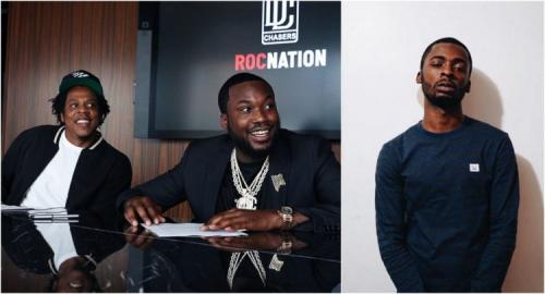 Jay-Z's Roc Nation & Meek Mill's Dream Chasers Sign Philly Rapper Kur