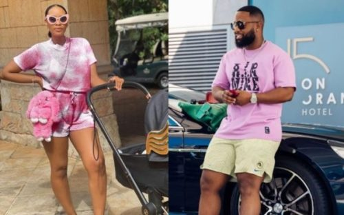 Thobeka and Cassper's sweet note to child as he turns 1-year-old