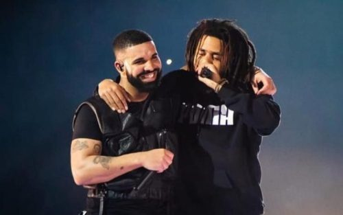 """Watch: Drake Addresses J. Cole """"Bronze"""" Line on 'Pipe Down' Freestyle"""