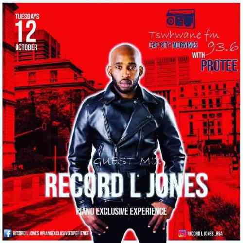 Record L Jones - Tshwane FM Capcity Morning Mix (Piano Exclusive Experience)