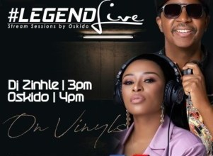Photo of Dj Zinhle – Legend Live Mix (Presents by Oskido)