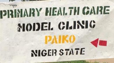 Photo of Advocacy Visit to Model Clinic, Paiko