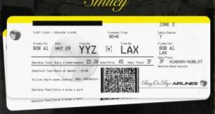 EP: Smiley - YYZ-LAX