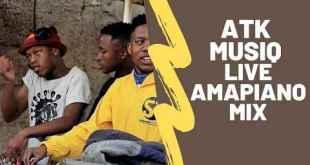 ATK Musiq - Thejournalistdj Amapiano Mix