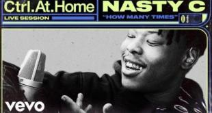 Nasty C - How Many Times (Live Session)
