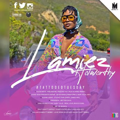 Lamiez Holworthy - TattoedTuesday 60 (The Morning Flava Mix)
