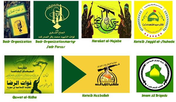 Flags And Seals Of The Armed Groups, Ally With Assad Regime İn Syria-II