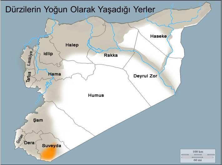 Suriye'de_Durzilerin_Yogun_Olarak_Yasadigi_Yerler