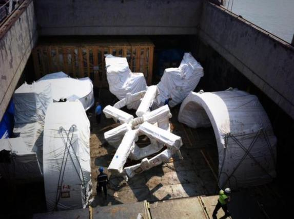 Foto Mesin Bor Tunnel Boring Machine