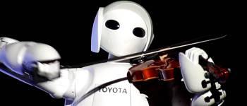 toyota robot violinist