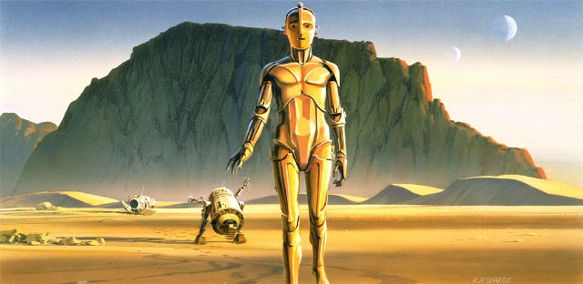 43 Concept Art Film Star Wars - 1