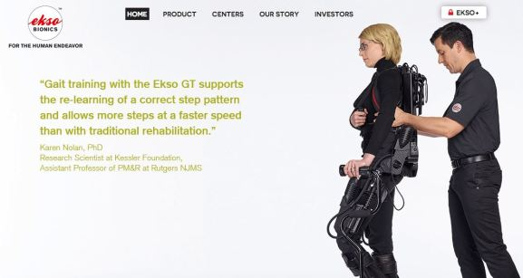 Exoskeleton Lengan Robotic