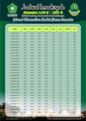 Jadwal Imsakiyah 1439 Ramadan 2018 - Jawa Barat Bandung