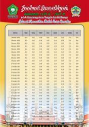 Jadwal Imsakiyah 1439 Ramadan 2018 - Jawa Tengah Semarang