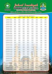 Jadwal Imsakiyah 1439 Ramadan 2018 - Kota Bekasi Jawa Barat