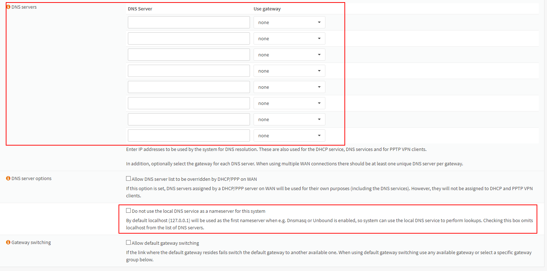 OPNSense Setup Unbound DNS – SahliTech, Inc