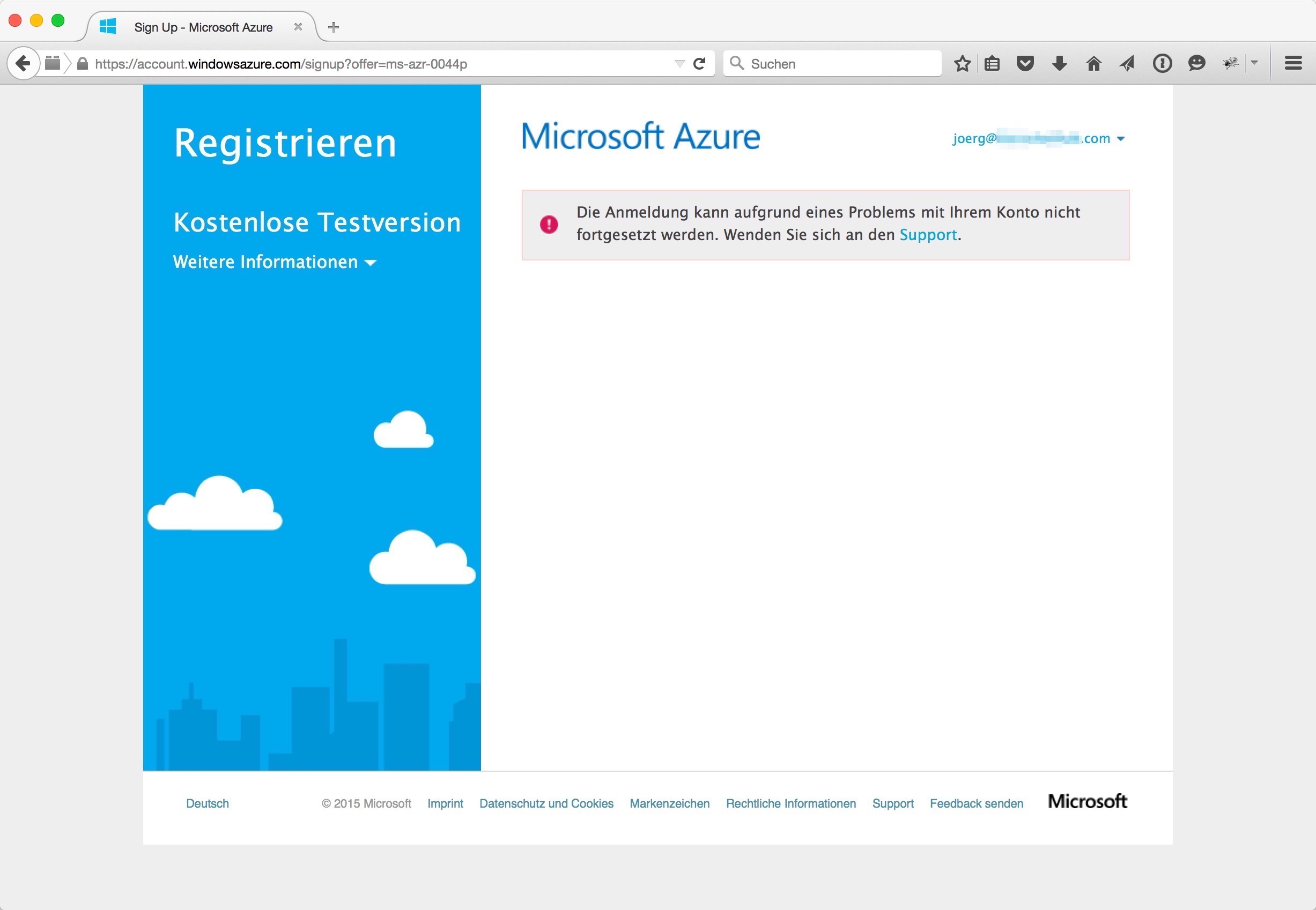 Erste Schritte mit Microsoft Azure - Specialization is for insects