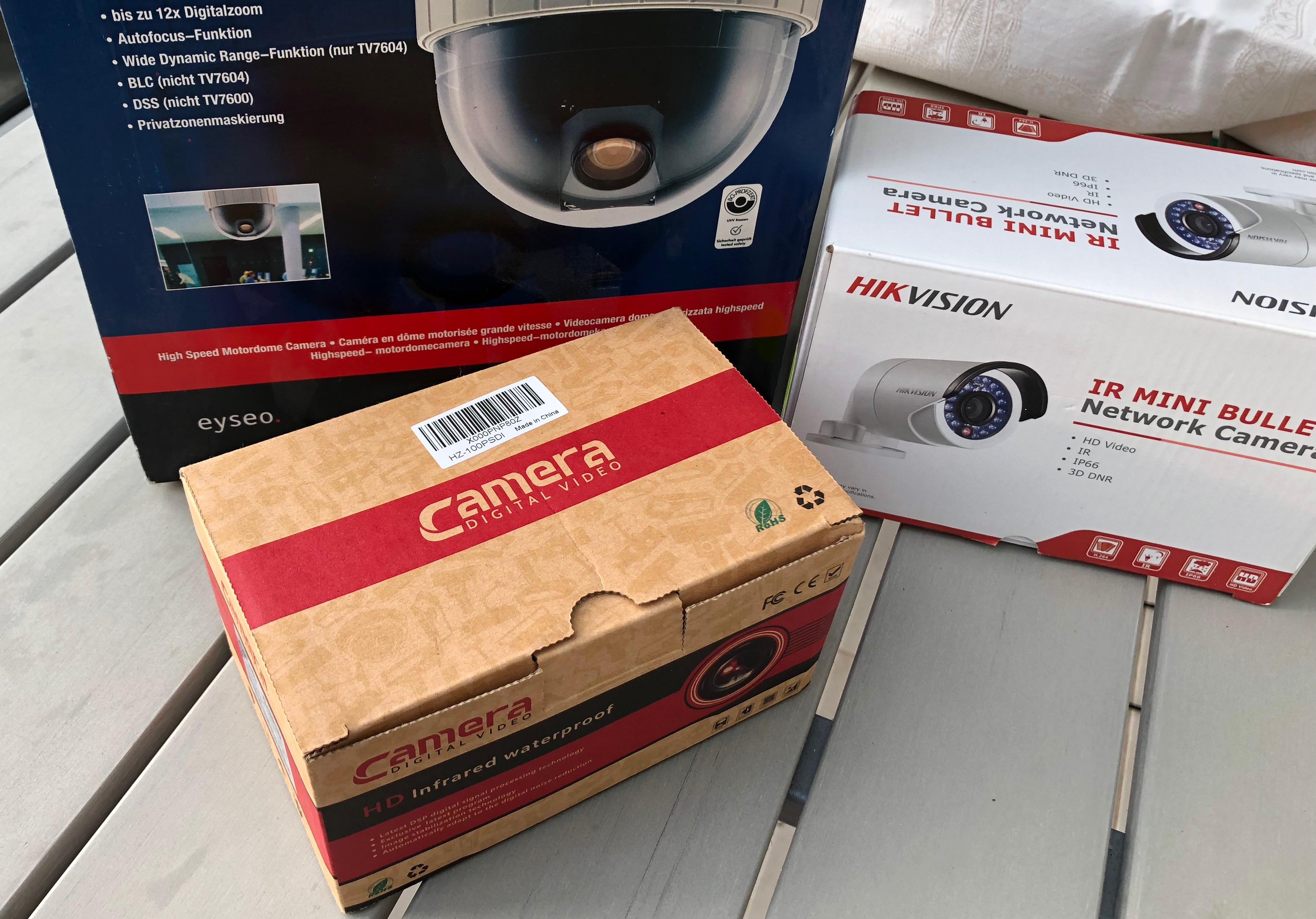 Test Kameras
