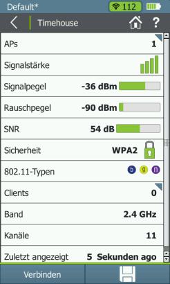 Falsches Frequenzband!