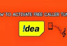 Free Caller Tunes For IDea Sim
