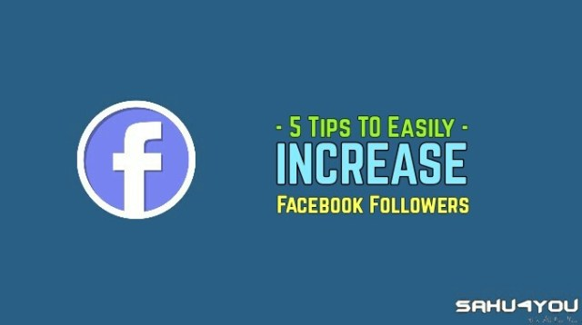How To Increase Fb Followers